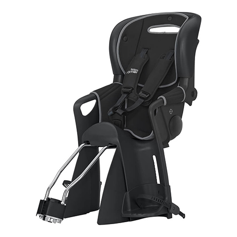 Seggiolini bici - Jockey Comfort Black/Grey by Britax