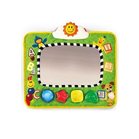 Accessori per il viaggio del bambino - Specchio da viaggio con musica e luci BBK-90608 by Bright Starts