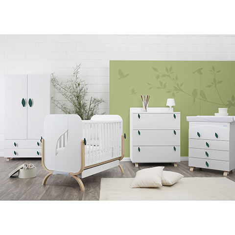 Camerette complete - Evolution Bianco by Baby Italia