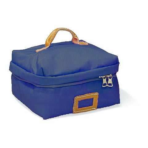 Borse - Borsa Beauty Square Medium 001 blu by Lazzari