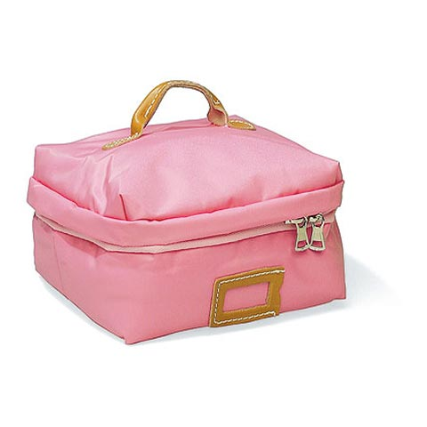 Borse - Borsa Beauty Square Medium 021 rosa by Lazzari
