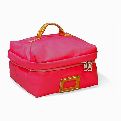Borse - Borsa Beauty Square Medium 040 rosso by Lazzari