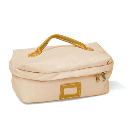 Borse - Borsa Beauty Square Small 022 beige by Lazzari