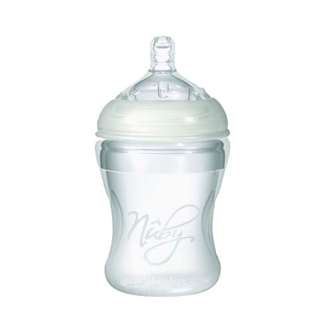 Biberon e succhiotti - Biberon silicone c/dosatore latte in polvere - no BPA 150 ml [67016] by Nuby