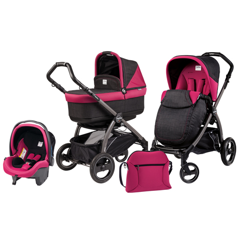 Modulari (DUO e TRIO) - [TRIO] Book Plus S con navetta Pop Up Fleur by Peg Perego