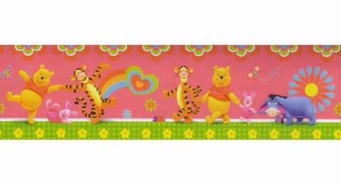 Complementi e decori - Bordure in blister h. 15,9 DE 42227 Pooh Licious by Decofun