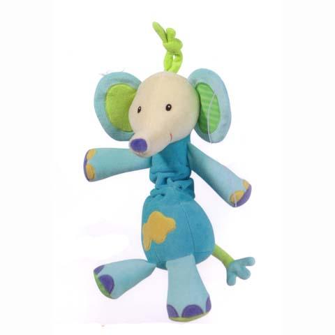 Giocattoli 0+ mesi - Pupazzi con tiramolla - Elefante color 166361 by Fehn