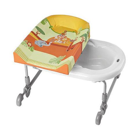 Bagnetti fasciatoio - Bagnetto fasciatoio Bagnotime reversibile 557 Safari Kids by Brevi