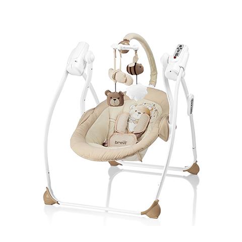 Altalene e dondolini - Miou My Little Bear - altalena con sedile a dondolo 553 My Little Bear by Brevi
