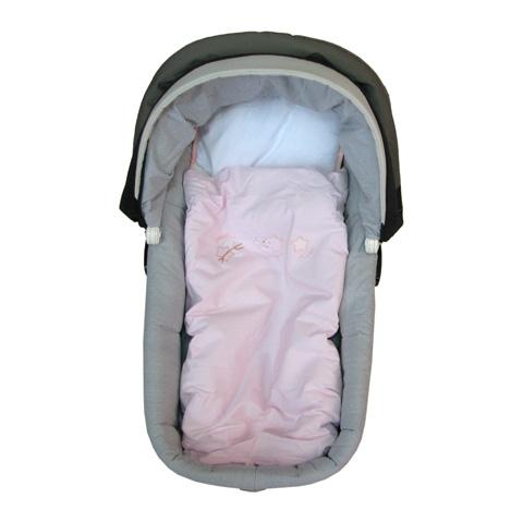 Coperte, lenzuolini e paracolpi - Piumetto ricamato con cuscino - Colorelle rosa by Picci