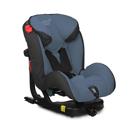 Seggiolini auto Gr.1/2 [Kg. 9-25] - Beat Isofix Blue Steel [913] by Casual Play