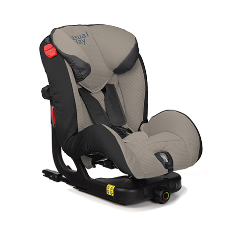 Seggiolini auto Gr.1/2 [Kg. 9-25] - Beat Isofix Moon Rock [916] by Casual Play