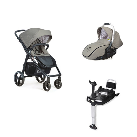 Modulari (DUO e TRIO) - [DUO] Loop + Sono + Base Isofix Jet [942] Telaio Black by Casual Play