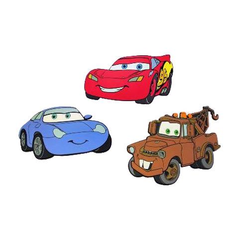 Complementi e decori - Maxisagome adesive Decofun DE 23663 - Set 3 sagome Cars by Decofun