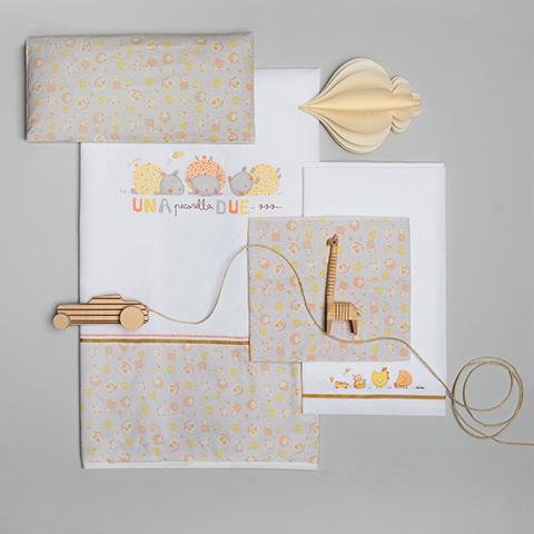 Tessuto cotone ricamate set pezzi per lettino lenzuolo - Paracolpi culla ikea ...