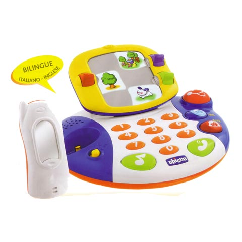 Giocattoli 18+ mesi - Videotelefono parlante bilingue 64338 - 60085 by Chicco