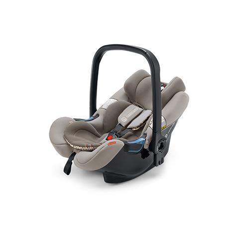 Seggiolini auto Gr.0+ [Kg. 0-13] - Air.Safe + clip COOL BEIGE by Concord