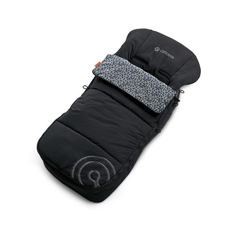 Accessori per il passeggino - Sacco a pelo Cocoon MIDNIGHT BLACK by Concord