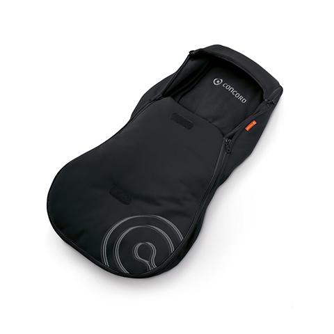 Accessori per il viaggio del bambino - Sacco a pelo Hug Driving MIDNIGHT BLACK by Concord