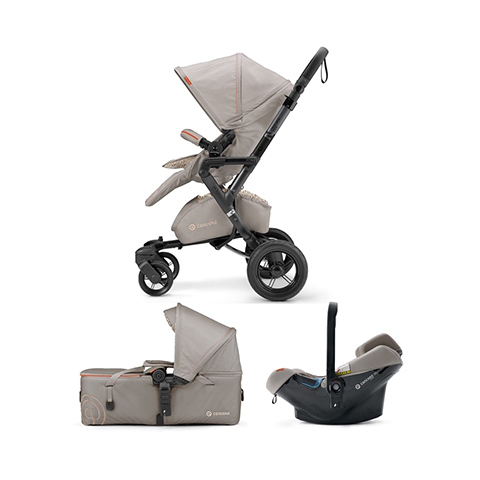 Modulari (DUO e TRIO) - [TRIO] Neo Mobility Set - Neo + Air.Safe + Scout COOL BEIGE by Concord