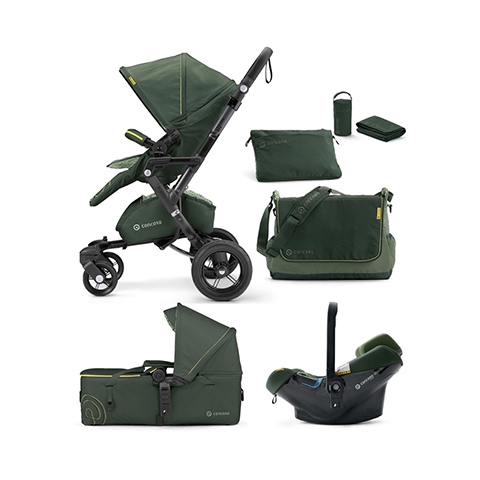 Modulari (DUO e TRIO) - [TRIO] Neo + Air.Safe + Scout Limited Edition JUNGLE GREEN by Concord