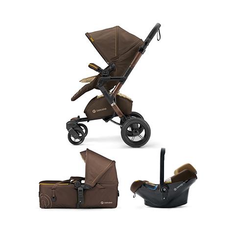 Modulari (DUO e TRIO) - [TRIO] Neo Mobility Set - Neo + Air.Safe + Scout WALNUT BROWN by Concord