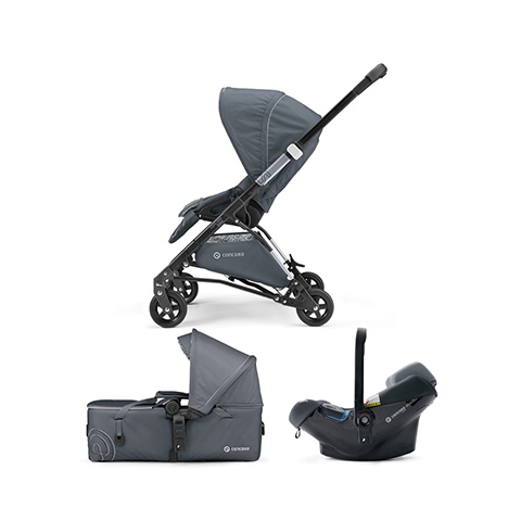 Modulari (DUO e TRIO) - [TRIO] Soul Mobility Set - Soul + Air.Safe + Scout GRAPHITE GREY by Concord