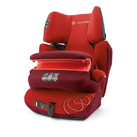 Seggiolini auto Gr.1/2/3 [Kg. 9-36] - Transformer Pro TOMATO RED by Concord
