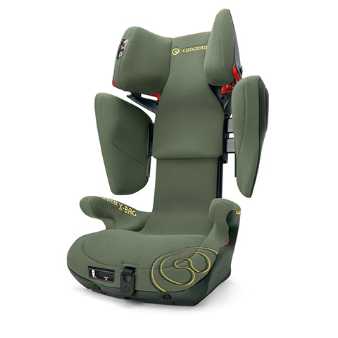 Seggiolini auto Gr.2/3 [Kg. 15-36] - Transformer X-Bag Limited Edition JUNGLE GREEN by Concord
