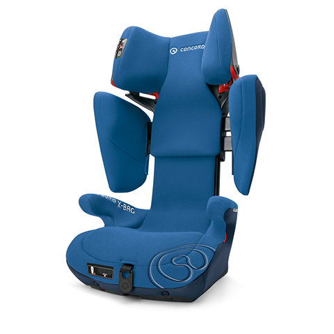Seggiolini auto Gr.2/3 [Kg. 15-36] - Seggiolino auto Transformer X-Bag OCEAN BLUE by Concord