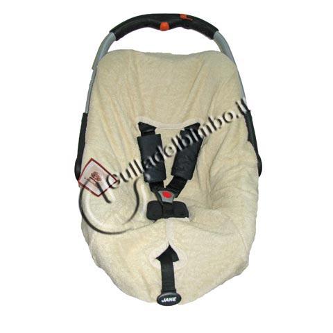 Accessori per il viaggio del bambino - Copriovetto lux Beige by Terra e Albero