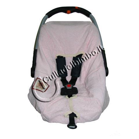 Accessori per il viaggio del bambino - Copriovetto lux Rosa by Terra e Albero