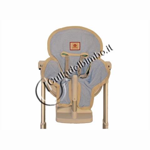 Accessori per la pappa - Copriseggiolone lux Celeste [LTA610-040] by Terra e Albero