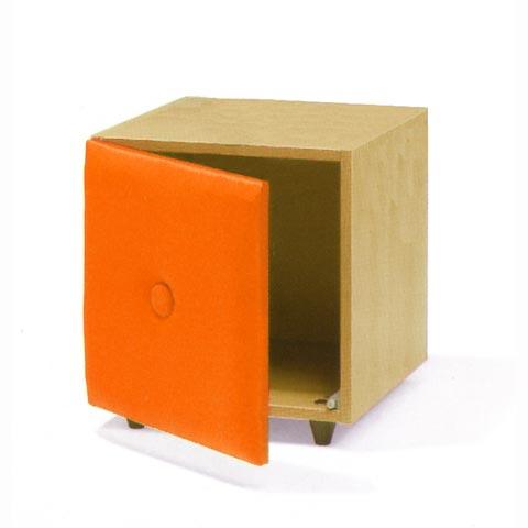 Altri moduli per arredo - Cube Soft antina arancio [009] by Lazzari
