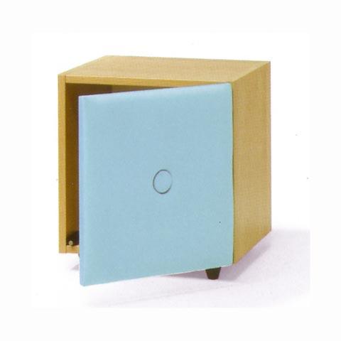 Altri moduli per arredo - Cube Soft antina azzurra [070] by Lazzari