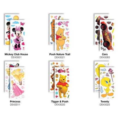 Complementi e decori - Deco Figure Stickers - Small DE 43020 - Tiger and Pooh by Decofun