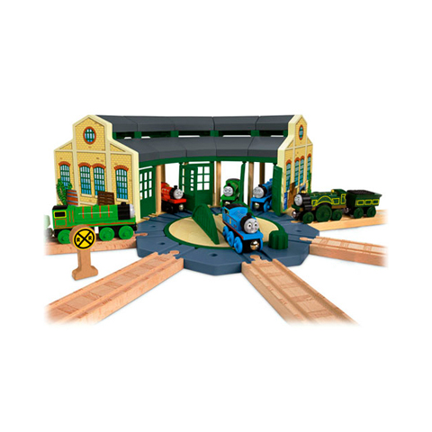 Giocattoli 36+ mesi - Thomas - Deposito di Tidmouth Y4367 by Fisher Price