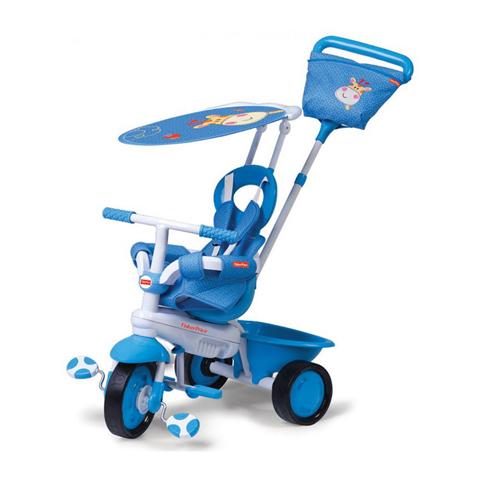 Giocattoli 12+ mesi - Triciclo Elite Azzurro by Fisher Price