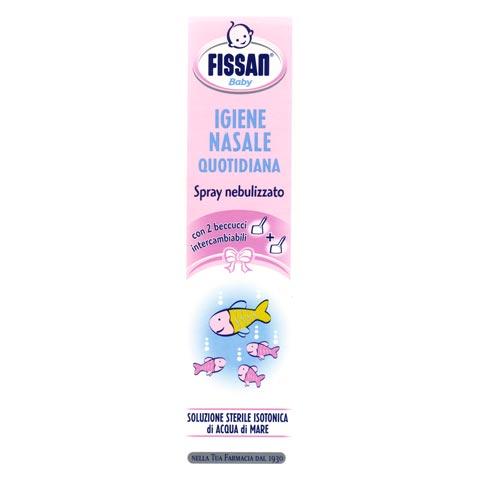 Prodotti igiene personale - Igiene nasale: spray soluz.sterile isotonica FB11 by Fissan Baby
