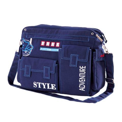 Accessori per carrozzine - Borsa Free Style Blu 002 by Brevi