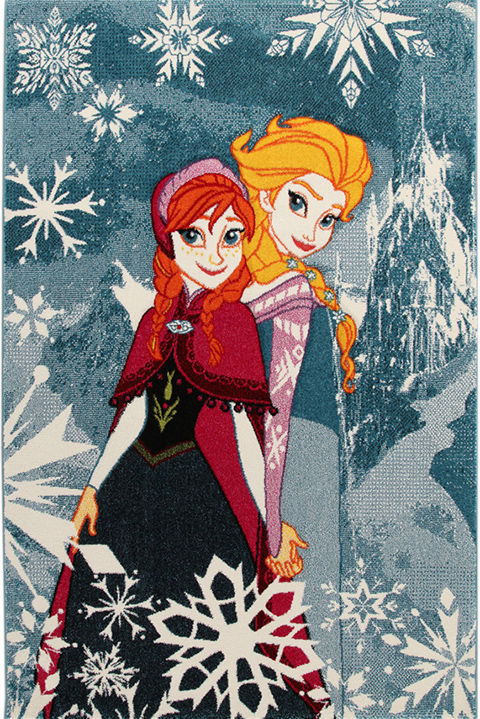 Tappeti per camerette - Frozen Anna and Elsa cm. 133 x 190 by ABC Italia
