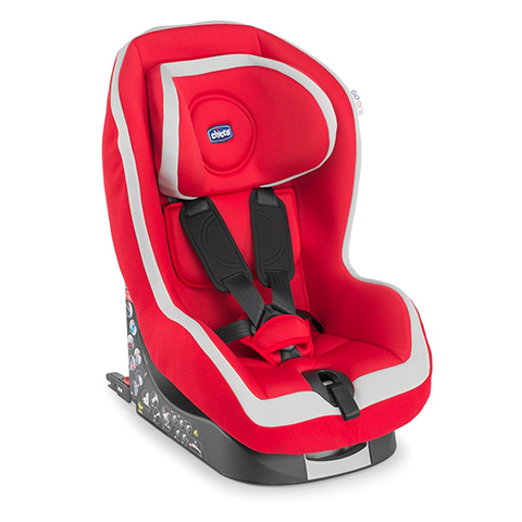 Seggiolini auto Gr.1 [Kg. 9-18] - Go One Isofix 70 Red by Chicco