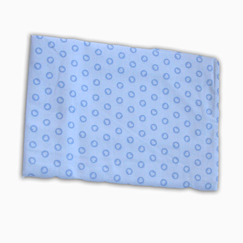 Materassi e linea bianca - Federa a cuori carrozzina e culla - Arcobaleno Sweet azzurro [026] by Somma