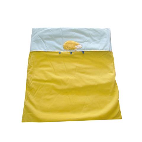 Coperte, lenzuolini e paracolpi - Piumottino per sfoderabile per culla Ciccio il Riccio Giallo-celeste by Picci - Dili Best