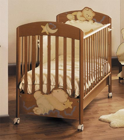 Lettini - Lettino Fantasia Ciliegio by Baby Expert
