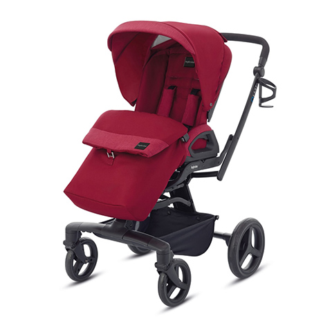 Passeggini - Passeggino Quad Intense red by Inglesina