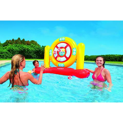 Casette, altalene, scivoli, piscine - Gioco bersaglio con palline 565092 by Intex