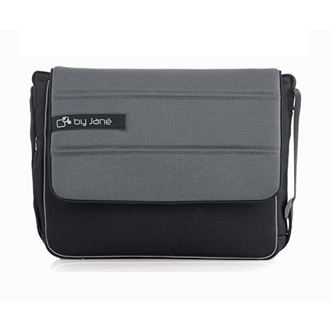 Accessori per carrozzine - Borsa fasciatoio S49 Black [Muum] by Jane