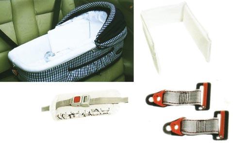 Accessori per carrozzine - Kit sicurezza auto per navicella Zippy Inglesina A090AB400 by Inglesina