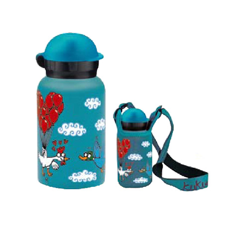 Accessori per la pappa - Bottiglia termica 350 ml. [KT3FS] - maschietto by Laken